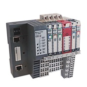 Digital Contact Output Module Point I/O, in-cabinet, 4-ch., off stage leakage 1.2A 240VAC, output NO relay, 24VDC, TS35, Allen-Bradley