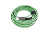 Feedback Cable Kinetix®, f. MP medium Inertia motors, (M7) SpeedTec DIN (motor end) to premolded (drive end), green, standard non-flex, 30m, Allen-Bradley