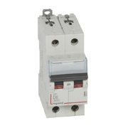 Miniature Circuit Breaker DX³, 2D 6A 6/10kA, Legrand