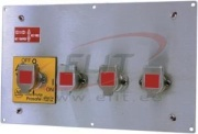 Multi Key Rotary Switch 440T, dual key isolator, 2NO 2NC 20A 690VAC, rotary, panel mount, Allen-Bradley