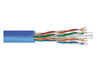 Network Cable UTP, 4x2x24AWG cat6, PVC, 305m/box, grey